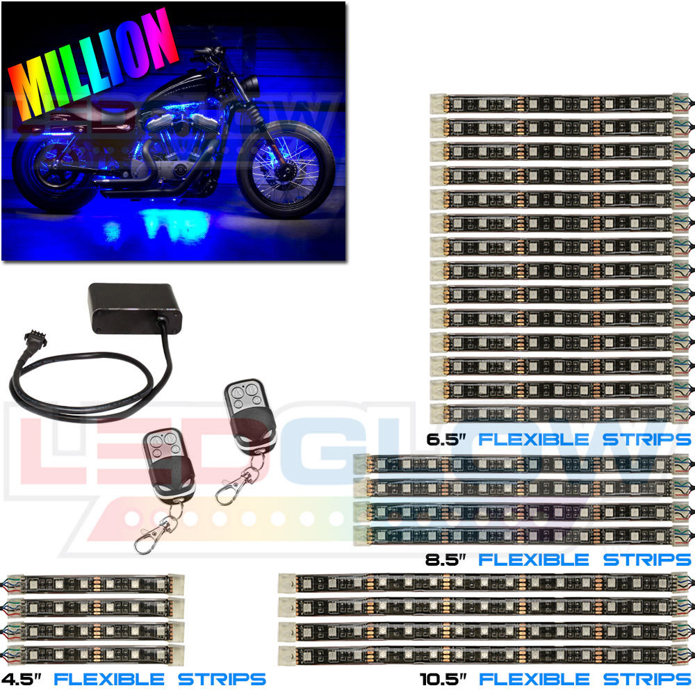 Alert Stamping Kamrock Lights Led Bulbs Extension Cords Ground Fault Circuit Interrupter Protected Tritap W Breaker Advanced Million Color Motorcycle Smd 26 Piece Kit