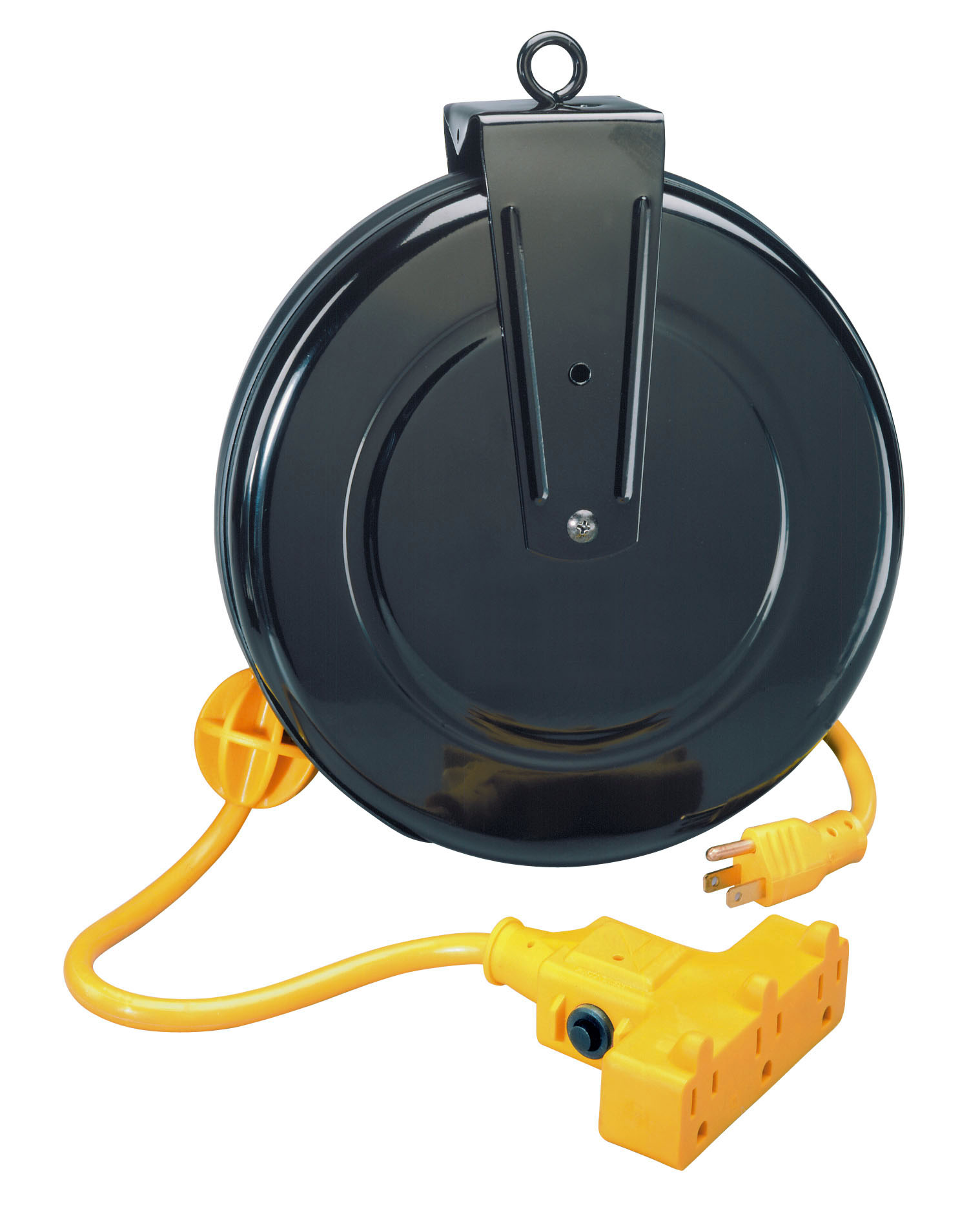 how to make a retractable cord reel