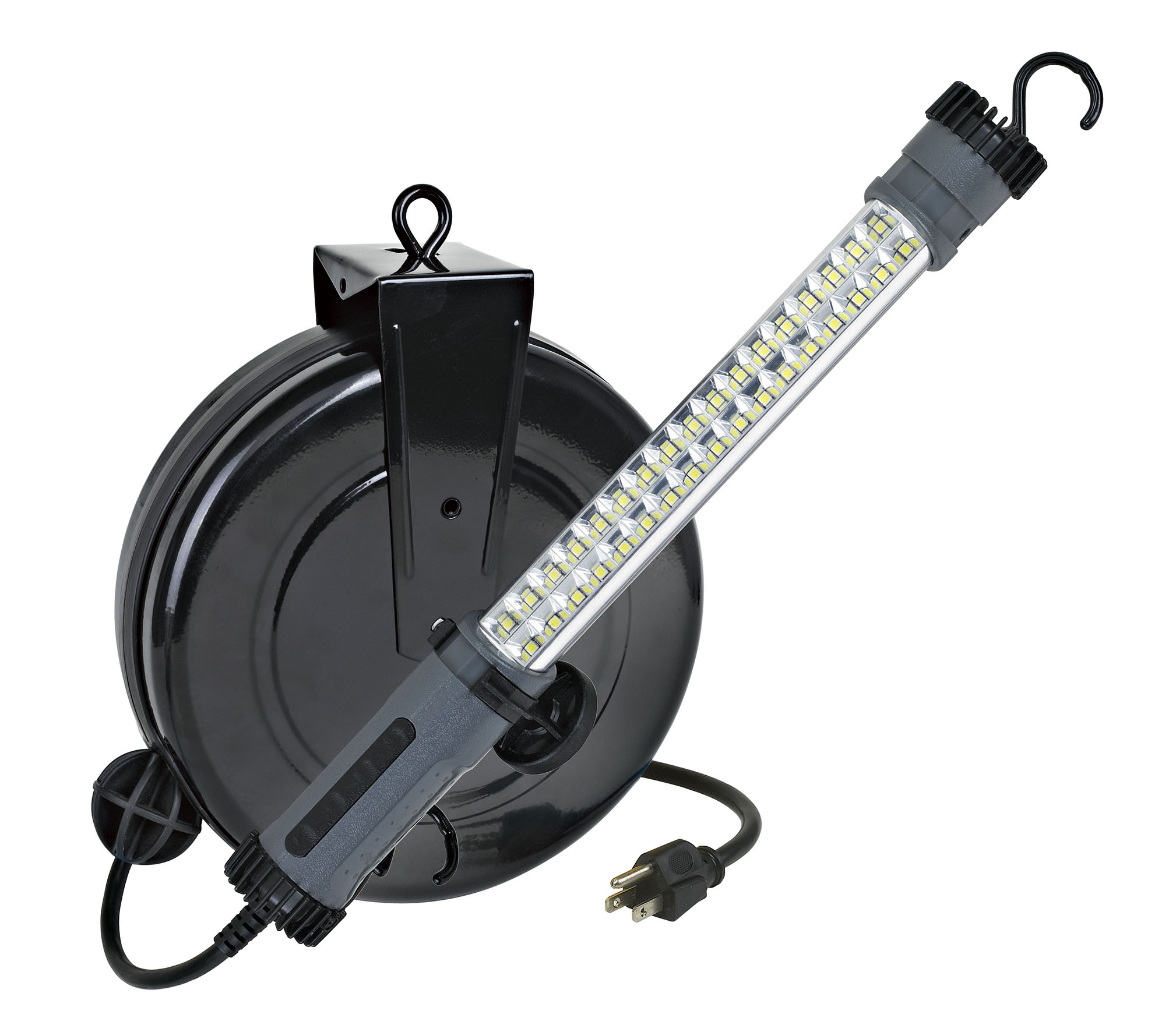 Auto Repair Work Light LED 30 Foot Retractable Cord Reel
